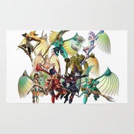Legend of Dragoon Dragoons Rug