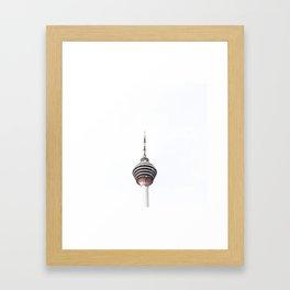 TV Tower Framed Art Print