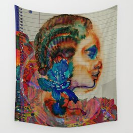 Homage to Schiaparelli couture Wall Tapestry