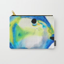 Tropical Fish 3 - Abstract Art By Sharon Cummings Carry-All Pouch