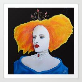 Fiona of Dublin Art Print