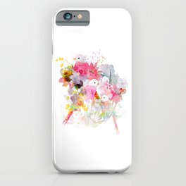 The Magical World of Birds iPhone Case