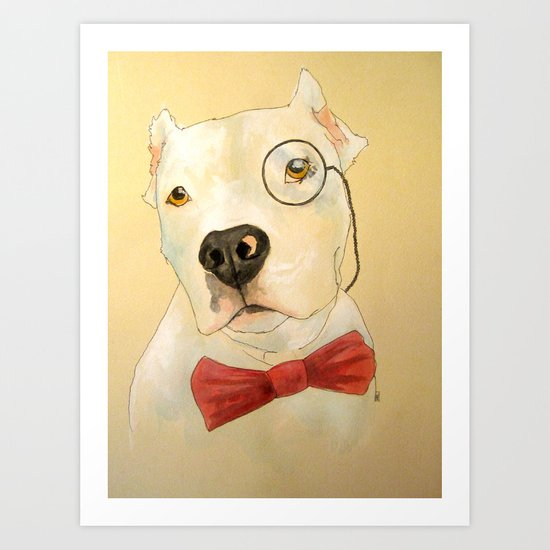You are a gentleman and a scholar. Art Print