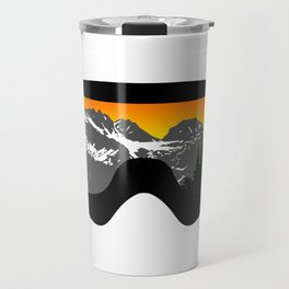 Sunset Goggles 2 | Goggle Designs | DopeyArt Travel Mug