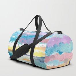 Ocean Sunset Duffle Bag