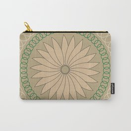 Kiwi inspired Pattern Carry-All Pouch