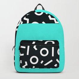 Memphis pattern 48 Backpack