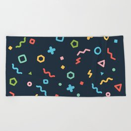 Geometry Beach Towel