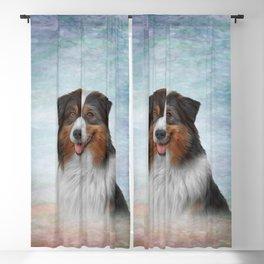 Dog breed Australian Shepherd, Aussie Blackout Curtain