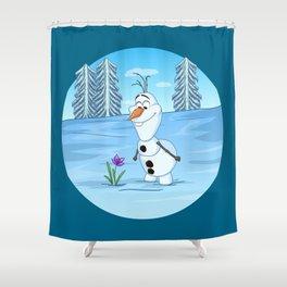 Olaf In Summer Shower Curtain