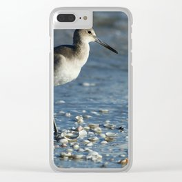 Beach Bum Clear iPhone Case