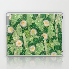 Cacti Camouflage, Green and White Laptop & iPad Skin