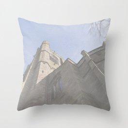 St Mary's Church Throw Pillow