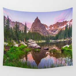 Lone Eagle Peak Wall Tapestry