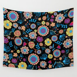Nature in the dark Wall Tapestry