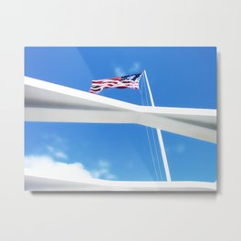 Pearl Harbor Memorial Metal Print