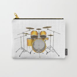 Yellow Drum Kit Carry-All Pouch
