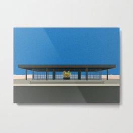 New National Gallery Berlin Metal Print