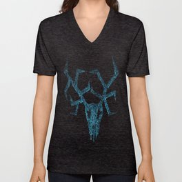 Wendigo ice blue Unisex V-Neck