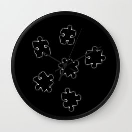 DT PUZZLE ART 3 Wall Clock