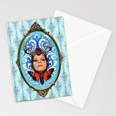 Cicada queen Stationery Cards