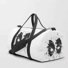 Dead Pool Eyes Splash Duffle Bag