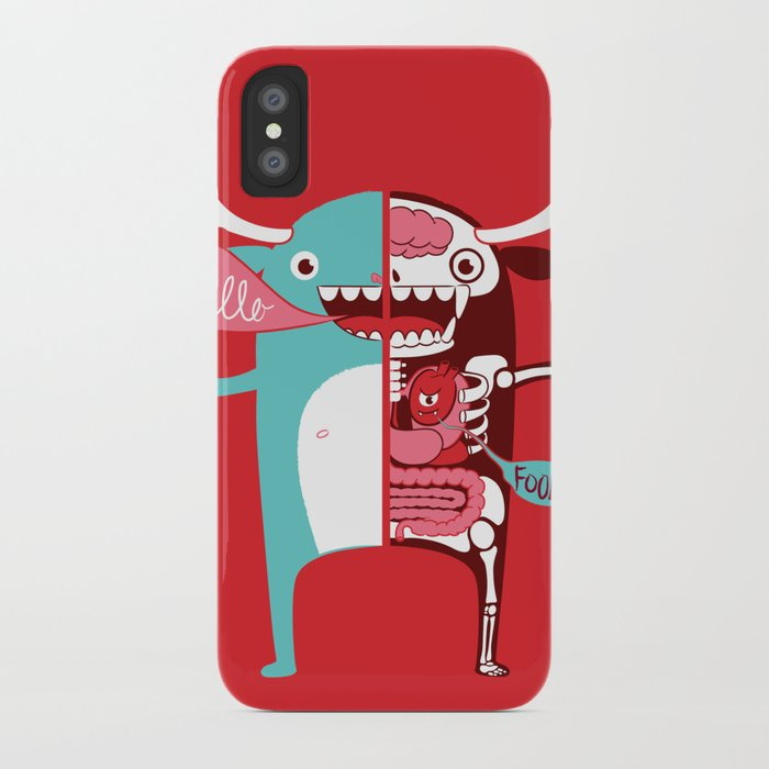 All monsters are the same! iPhone Case