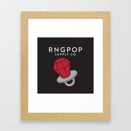 RNGPOP Framed Art Print