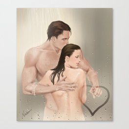 steamy picture Canvas Print