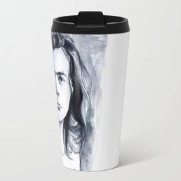 Harry Watercolors B/N Travel Mug