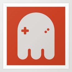 Ghost 2 Art Print