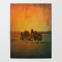 Solitude Colors Poster
