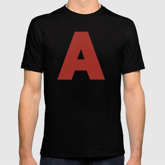 Red A T-shirt