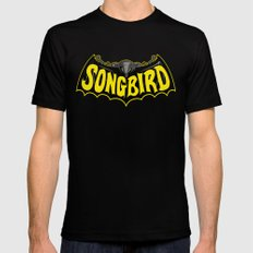 Songbird SMALL Black Mens Fitted Tee