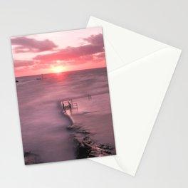 The Sea Pool Sunset, Bude, Cornwall, England, United Kingdom Stationery Cards