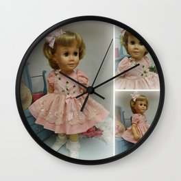 Vintage Chatty Cathy Wall Clock