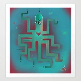 OctoLove Art Print