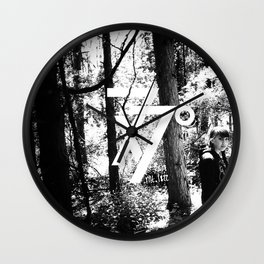 seven times seventy times Wall Clock