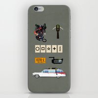 ghostbusters iPhone & iPod Skins featuring ghostbusters by avoid peril