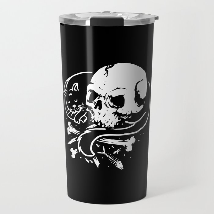 Dark Cat Travel Mug
