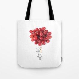Boy with grapes - NatGeo version Tote Bag