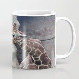 Giraffe Close up Coffee Mug