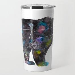 Ursa Watercolor Constellation Painting Travel Mug