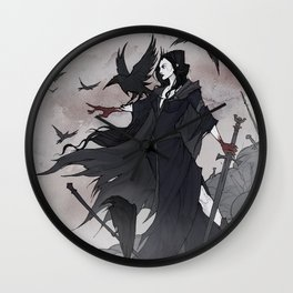 Morrigan Wall Clock