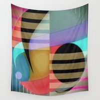 return Wall Tapestries featuring Return to Innocence by Kristine Rae Hanning