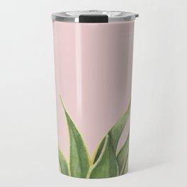Botanical Pink Travel Mug