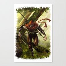 Berenn the Archer Canvas Print