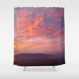 Haleakala Summit Sunset Shower Curtain