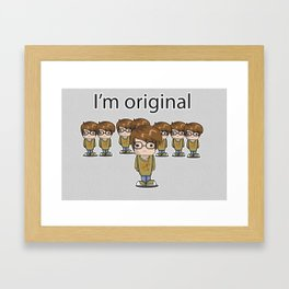 I'm Original Framed Art Print