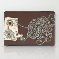 cassette iPad Cases featuring Cassette / Cassette by Matthew Fleming